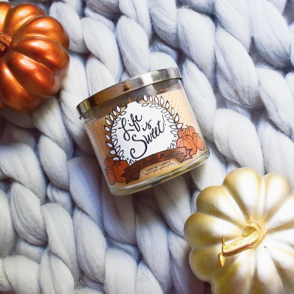 pumpkincandle