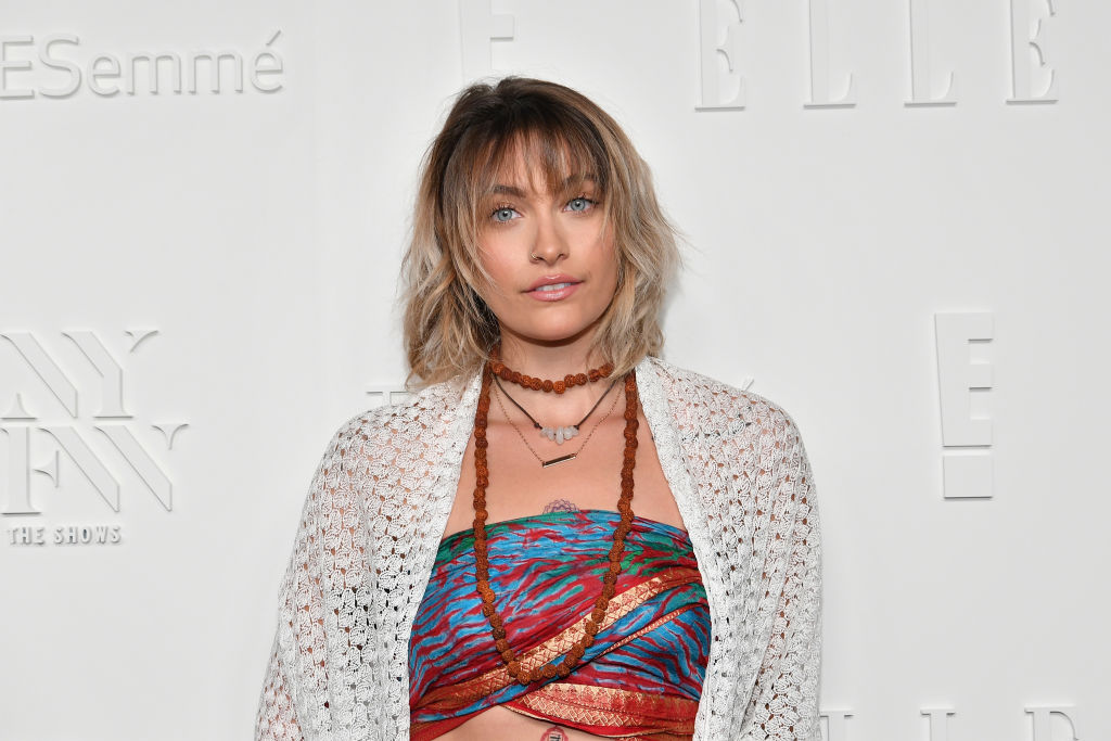 Paris Jackson attends the NYFW Kickoff Party, A Celebration Of Personal Style, hosted by E!, ELLE & IMG and sponsored by TRESEMME, on September 6, 2017 in New York City.