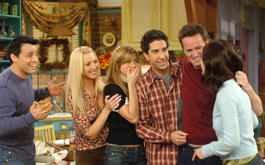 Picture of Friends Finale