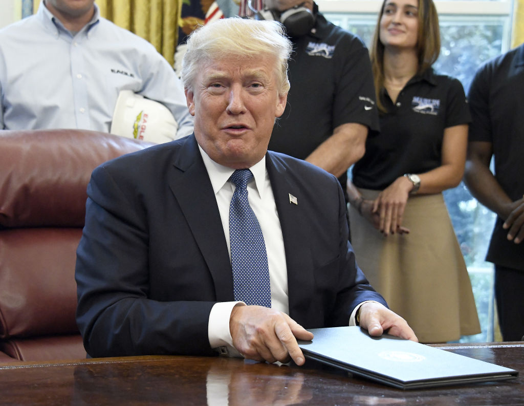 President Trump Signs The National Manufacturing Day Proclamation