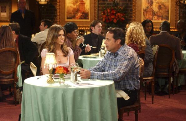 Rachel on a blind date in Friends