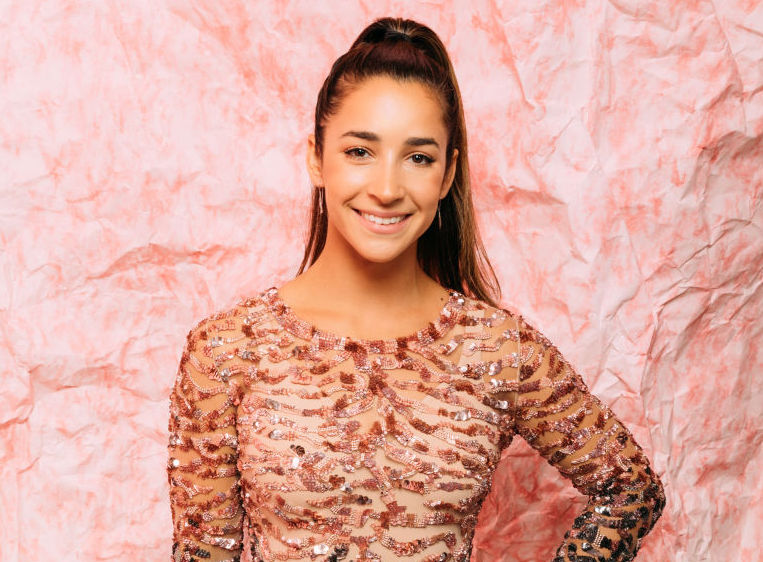 Picture of Aly Raisman Sparkly Dress