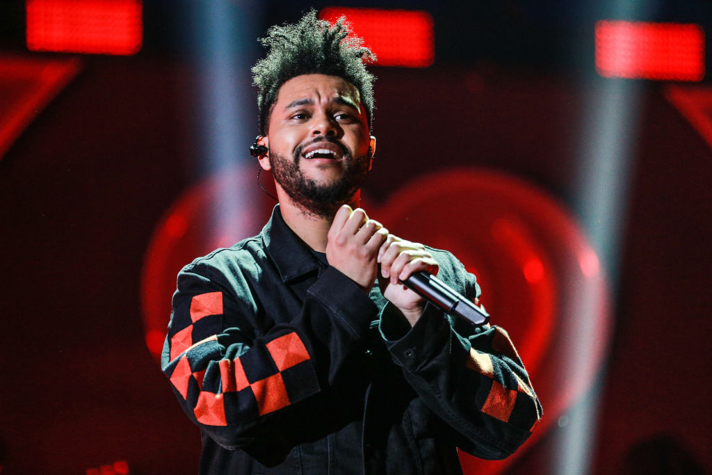 Picture of The Weeknd Performing