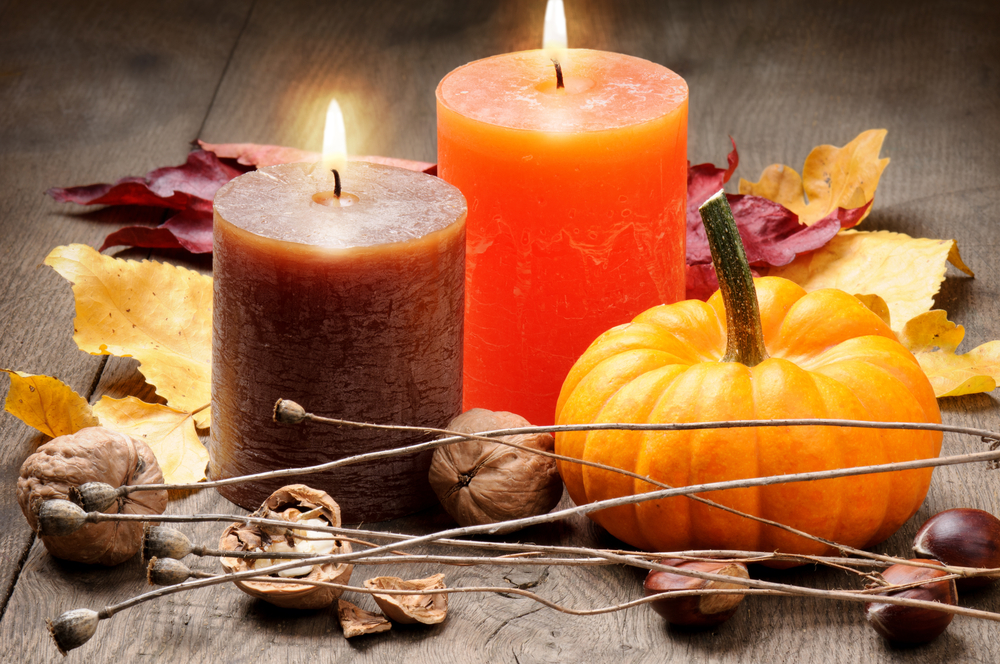Picture of Pumpkin Candles