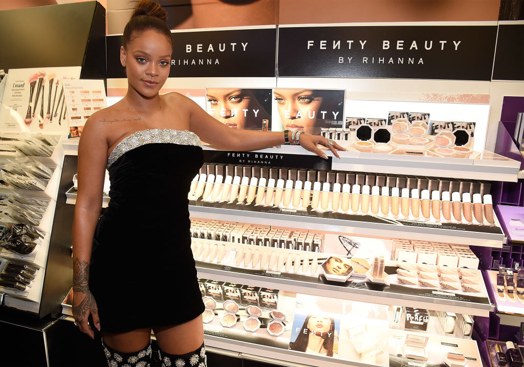 Rihanna launches Fenty Beauty at Sephora Times Square on September 7, 2017 in New York, New York.