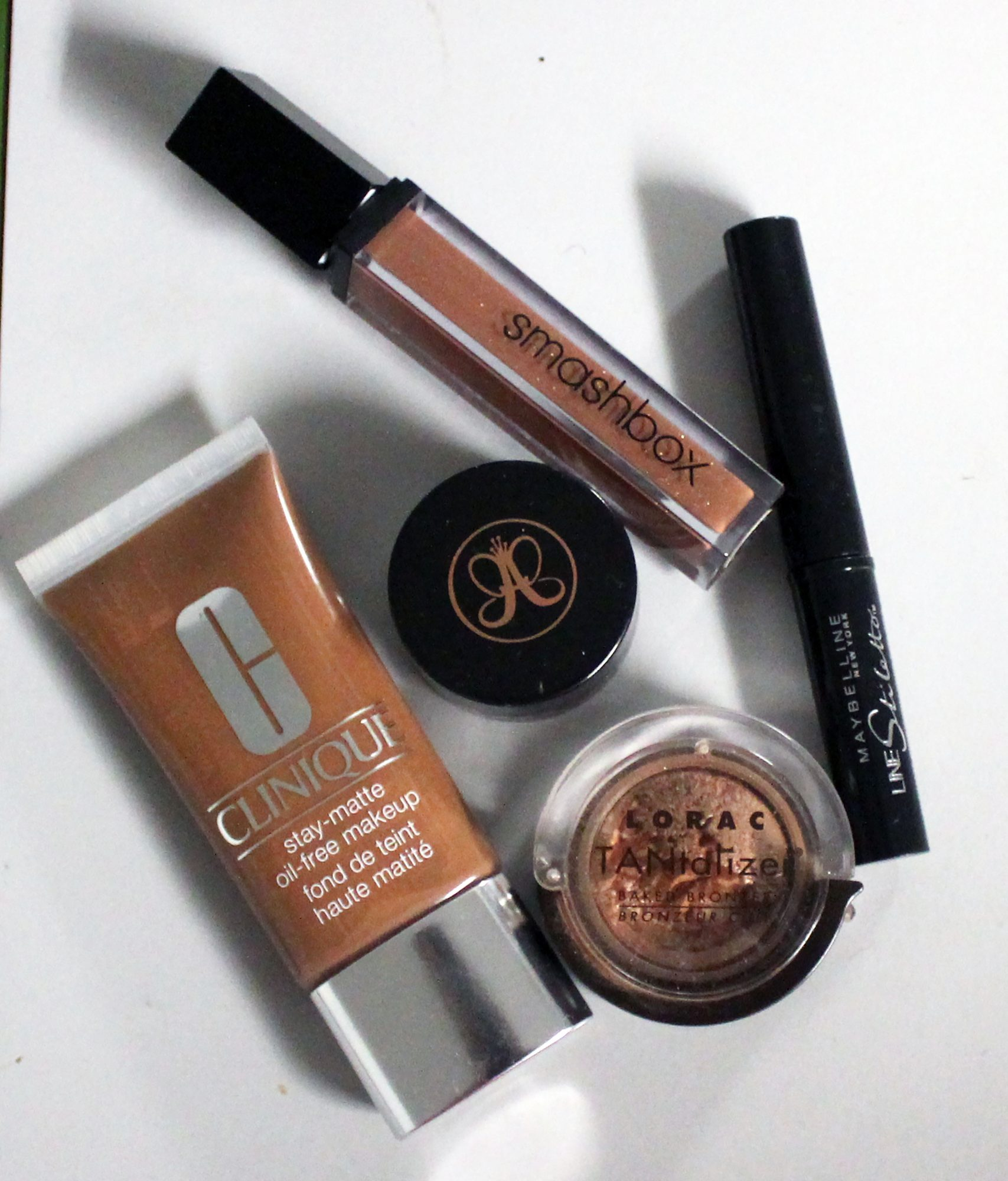 Some of my makeup essentials.