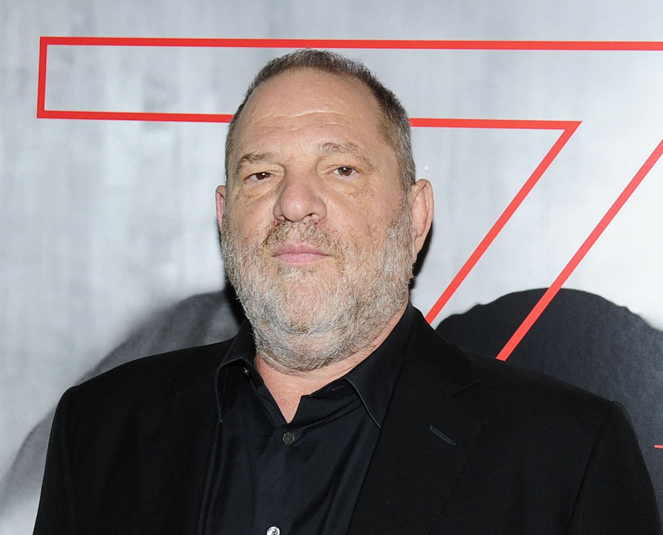 "Harvey Weinstein attends the premiere of ""House of Z"" in September 2017"