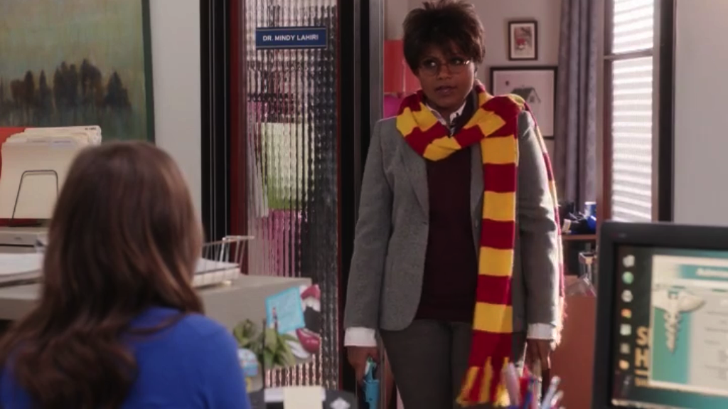 Mindy Kaling as Harry Potter