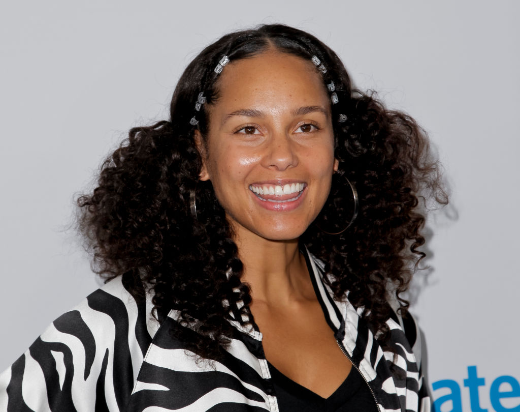 """Alicia Keys attends """"We Day"""" California 2017 at The Forum on April 27, 2017 in Inglewood, California."""