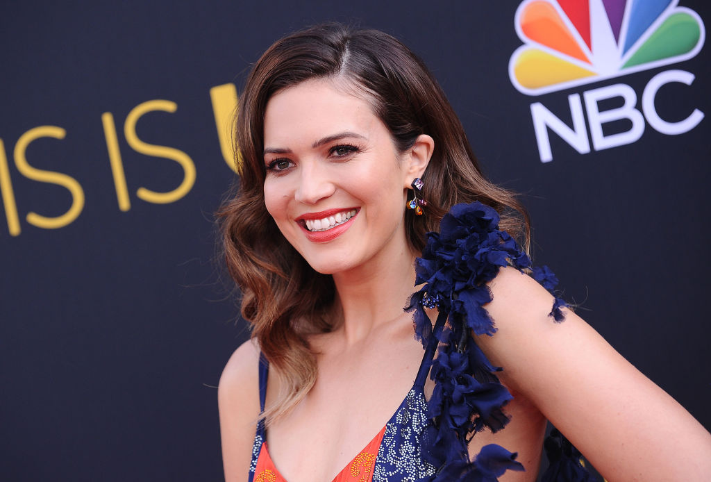 """Mandy Moore attends the season 2 premiere of """"This Is Us"""" at NeueHouse Hollywood on September 26, 2017 in Los Angeles, California."""