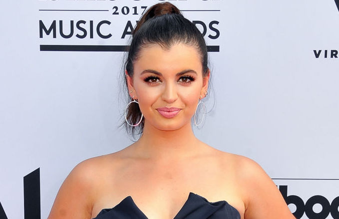 Picture of Rebecca Black Navy Dress