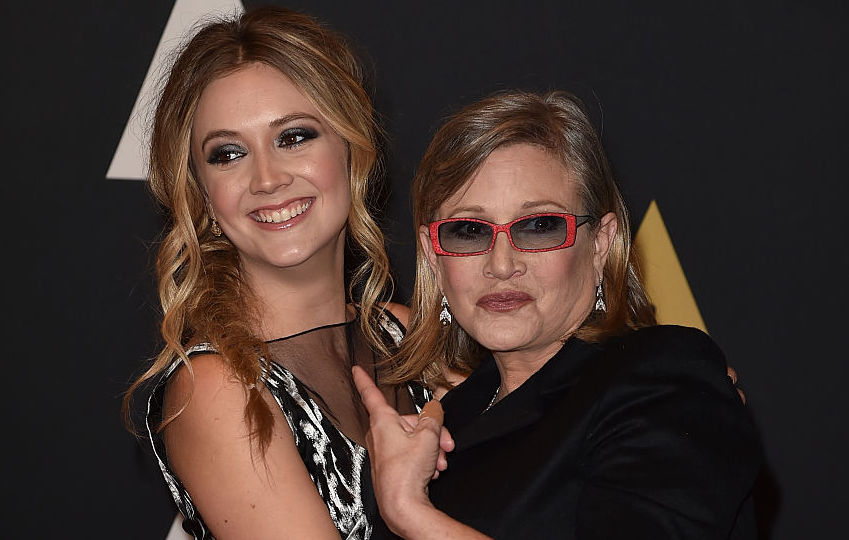 Picture of Billie Lourd Carrie Fisher