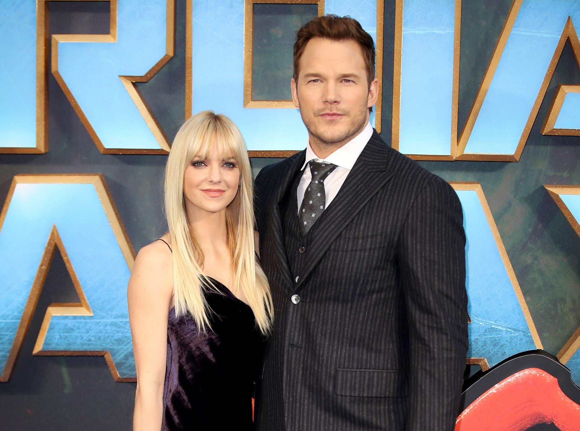 Image of Chris Pratt and Anna Faris