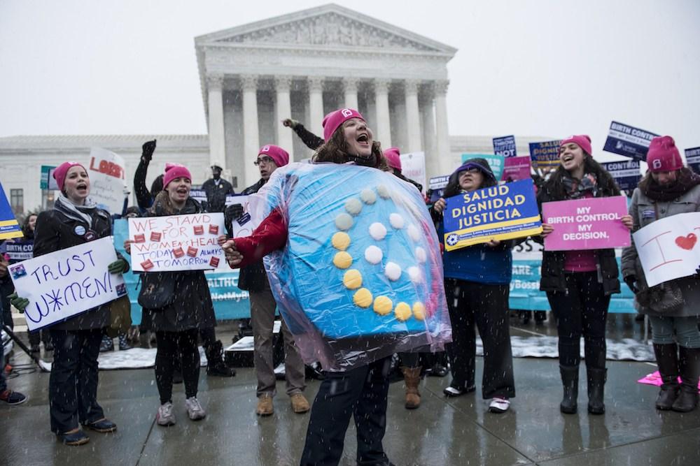 birth control protest