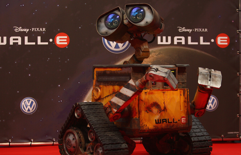 A woman made a pumpkin soup robot, and Wall-E is as confused as we are.