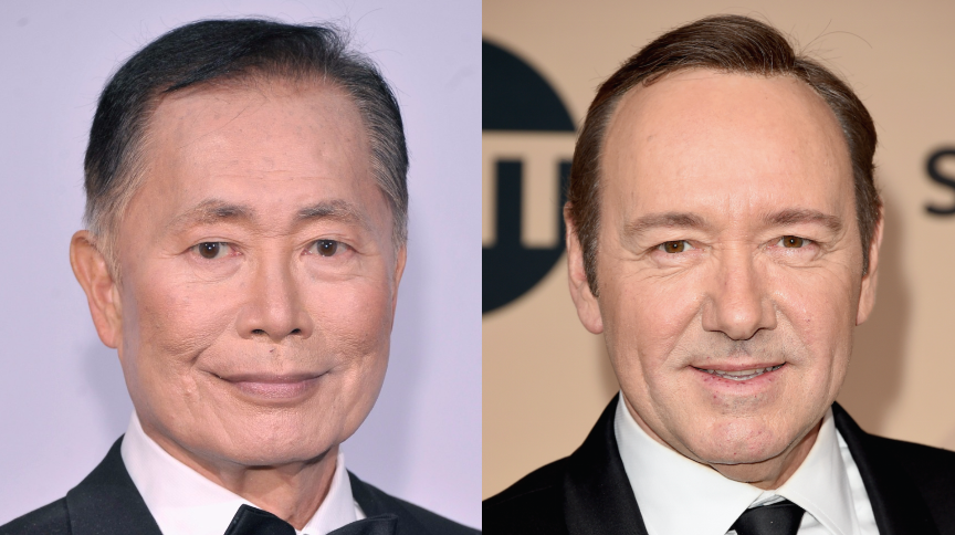 george takei kevin spacey