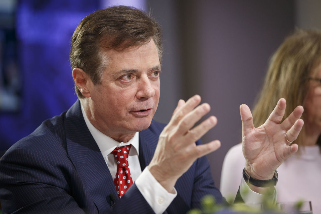 File: Paul Manafort Charged With Conspiracy