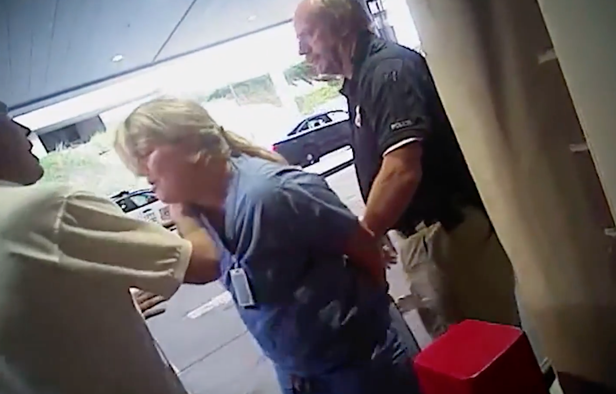 utah nurse arrest