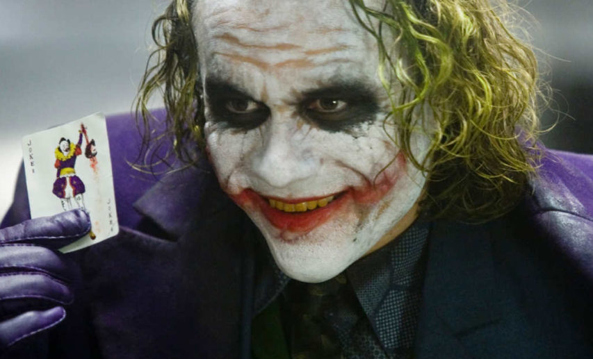 Picture of Heath Ledger Joker