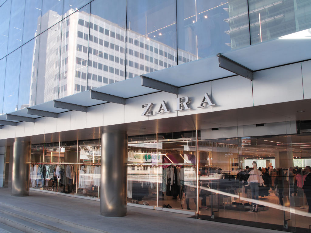 Picture of Zara Glass Storefront
