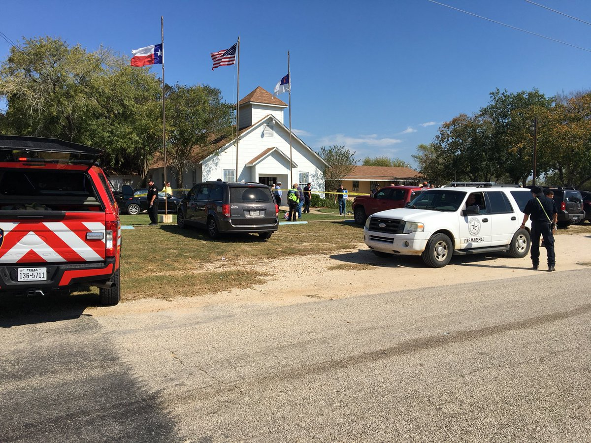 Mass shooting at a church in Texas