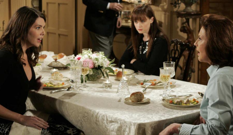 Gilmore Girls friday dinner
