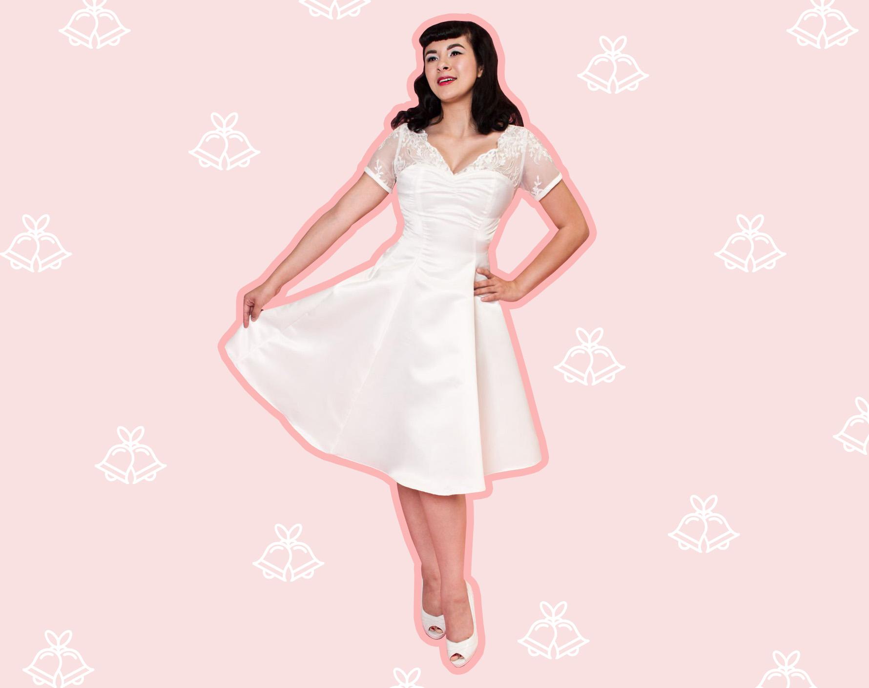 '60s wedding dresses
