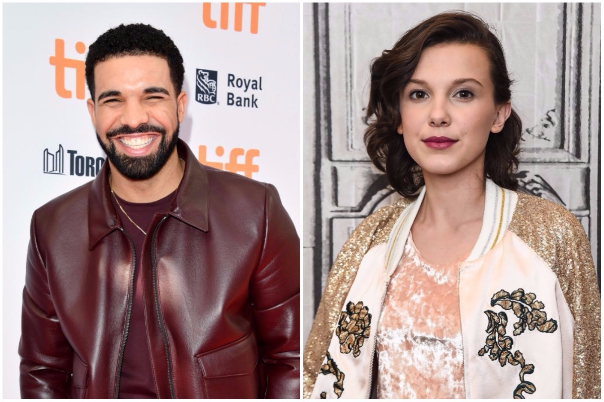 Picture of Drake Millie Bobby Brown