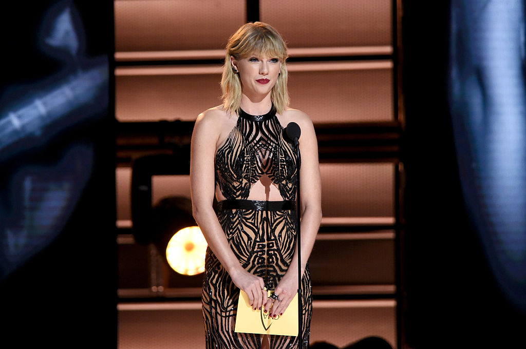Picture of Taylor Swift Award Speech