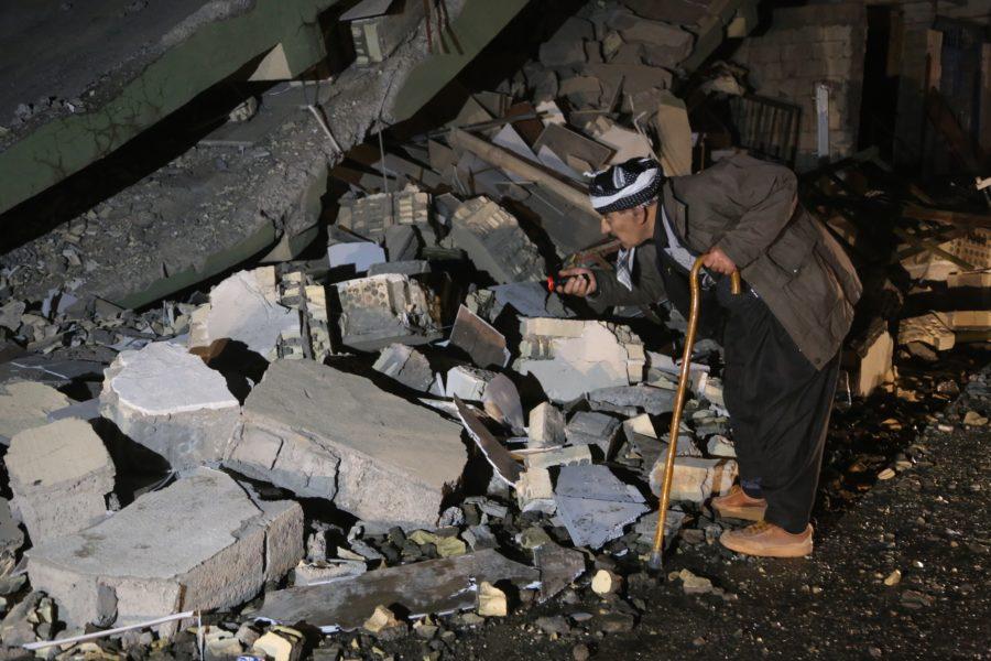 7.3 magnitude quake rocks northern Iraq, Iran