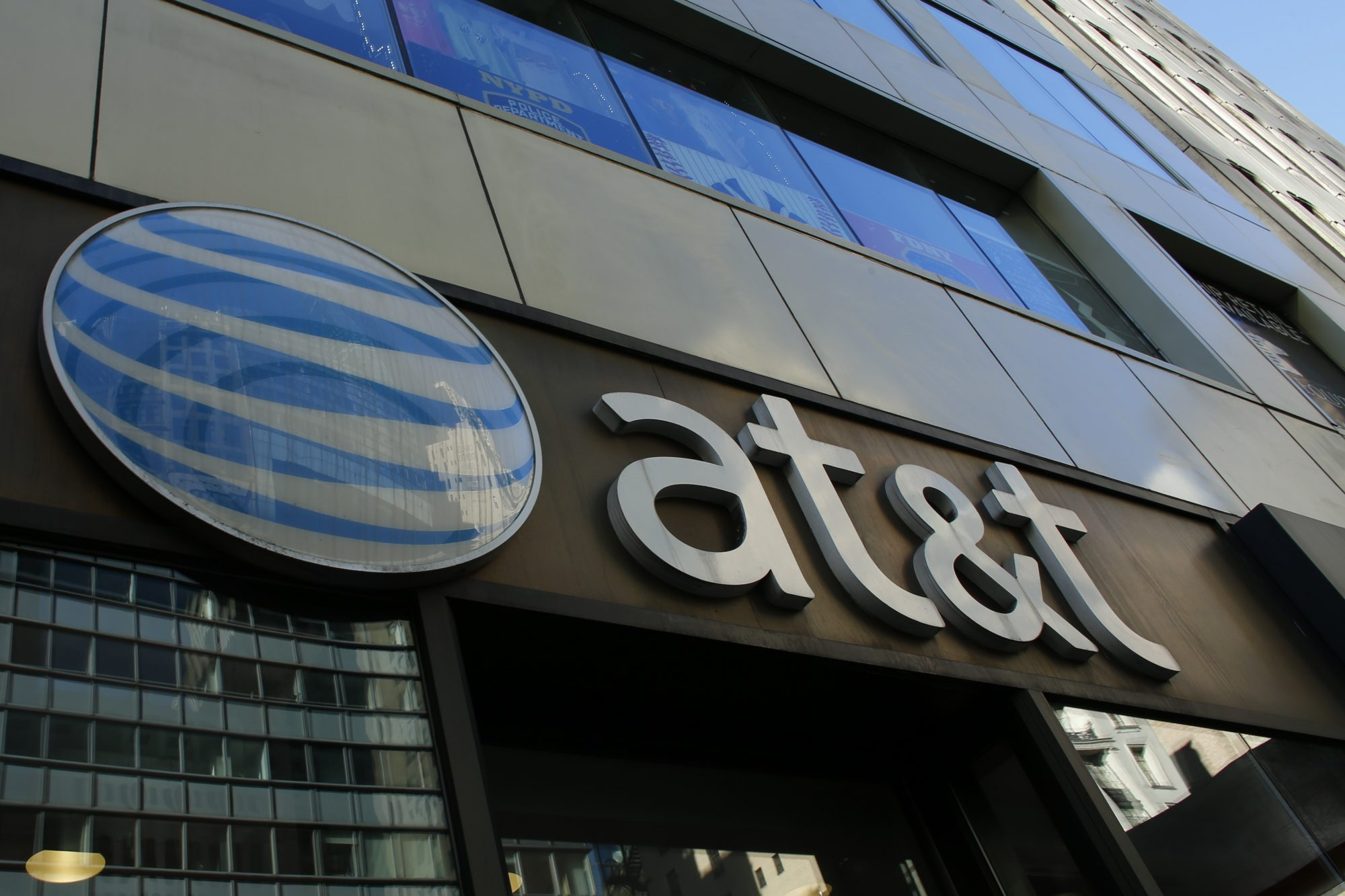 AT&T unveiled a mega-deal for Time Warner that would transform the telecom giant into a media-entertainment powerhouse positioned for a sector facing major technology changes. The stock-and-cash deal is valued at $108.7 billion including debt, and gives a value of $84.5 billion to Time Warner -- a major name in the sector that includes the Warner Bros. studios in Hollywood and an array of TV assets such as HBO and CNN. / AFP / KENA BETANCUR (Photo credit should read KENA BETANCUR/AFP/Getty Images)