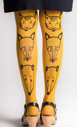 Picture of Yellow Fox Tights