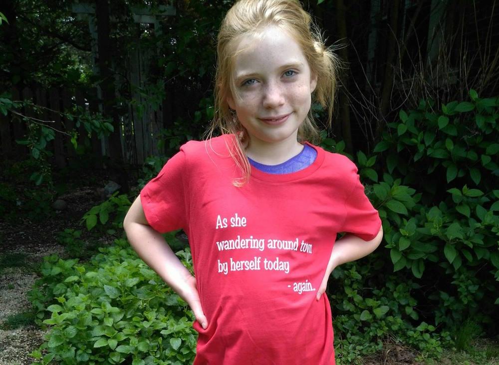 11-year-old reporter Hilde Lysiak