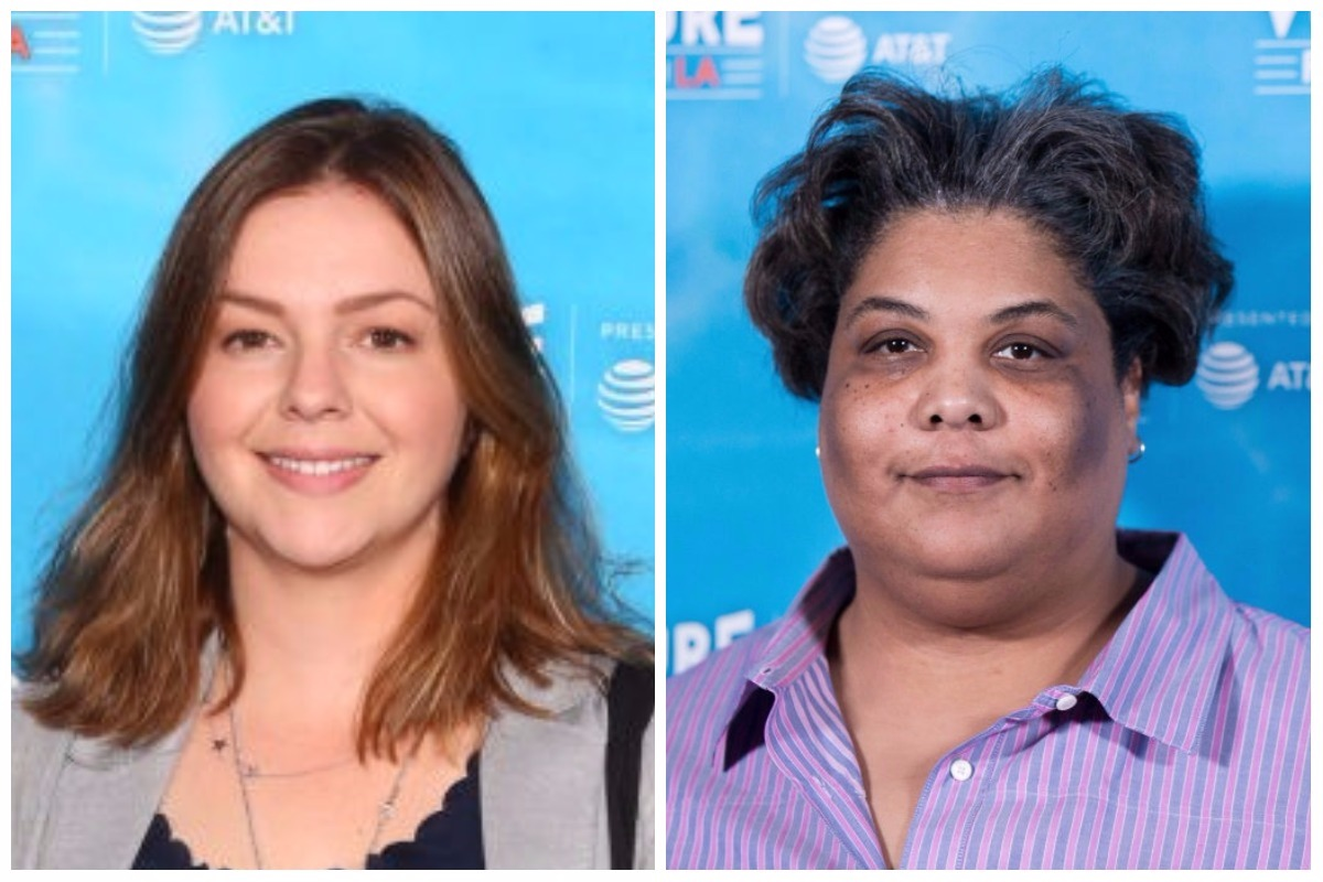 Picture of Amber Tamblyn Roxane Gay