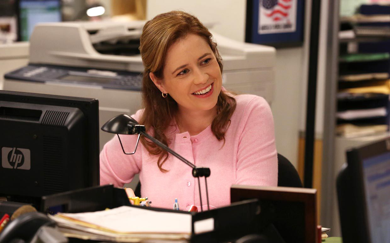 Picture of Pam Halpert The Office