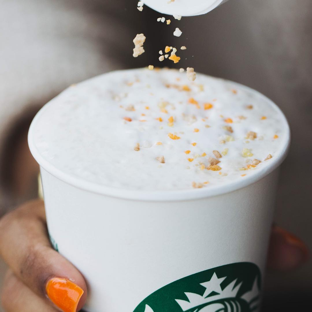 Starbucks Toffee Almondmilk Hot Chocolate