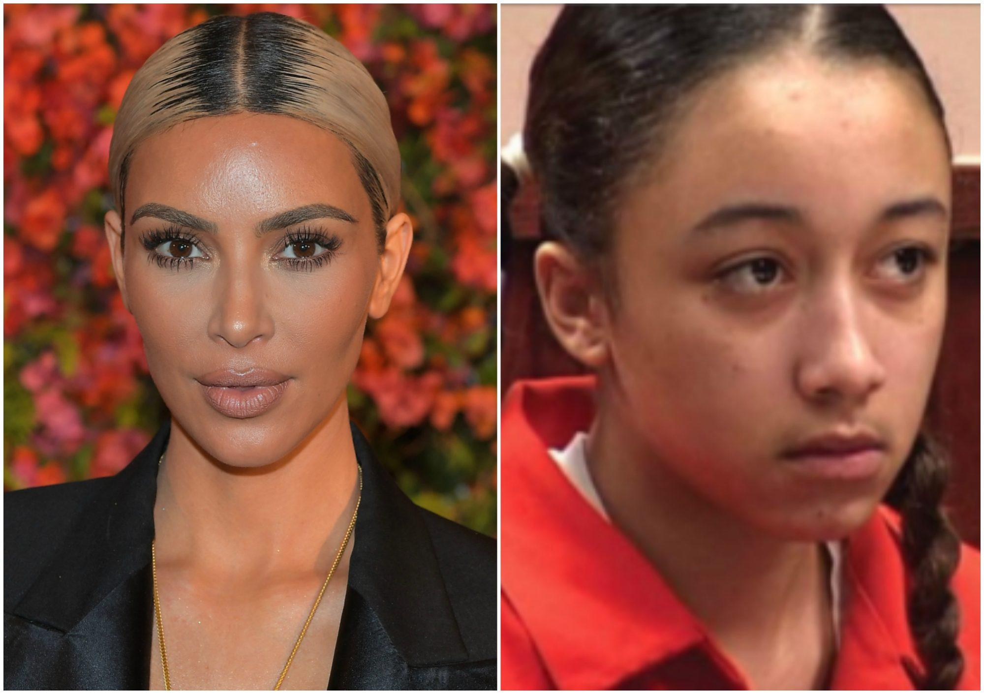 Image of Kim Kardashian and Cyntoia Brown