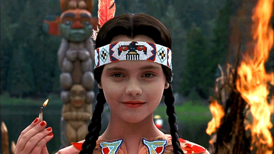 Wednesday Addams Native American