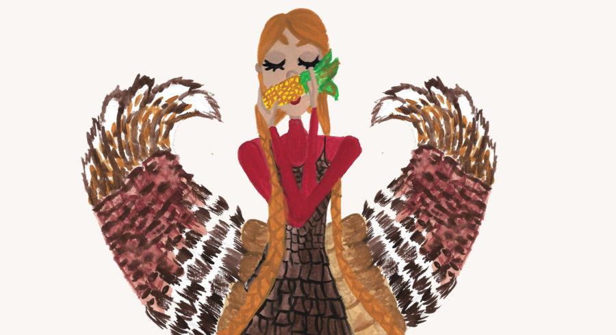 Thanksgiving mermaid