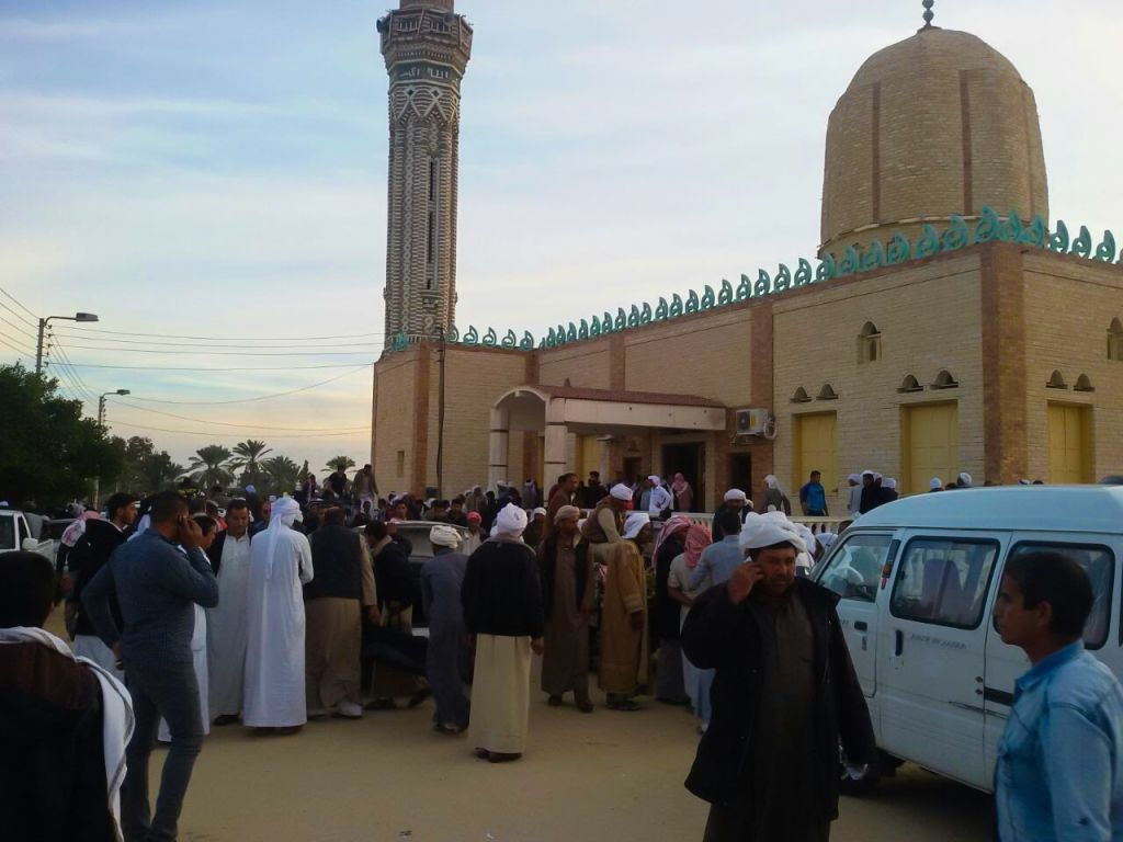 Picture of Egypt Sinai Mosque Attack