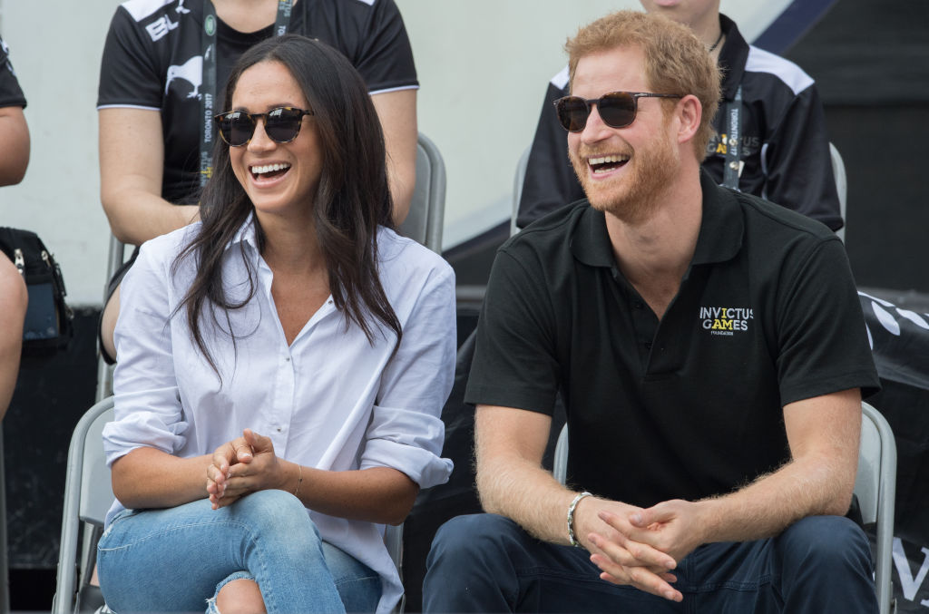 Picture of Meaghan Markle Prince Harry Sunglasses