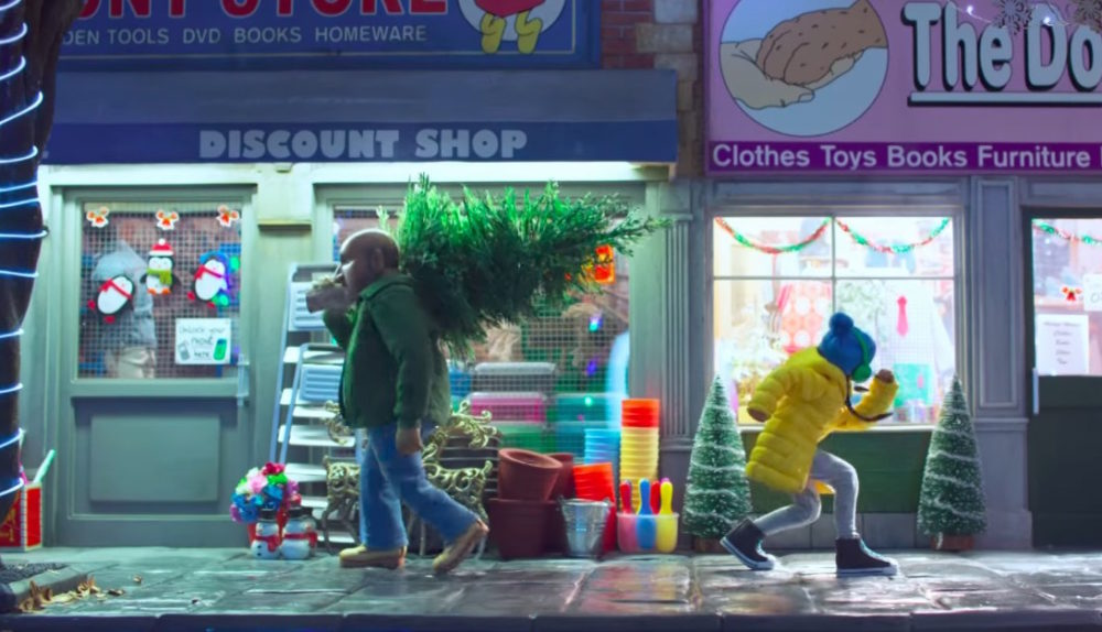 BBC One Christmas commercial