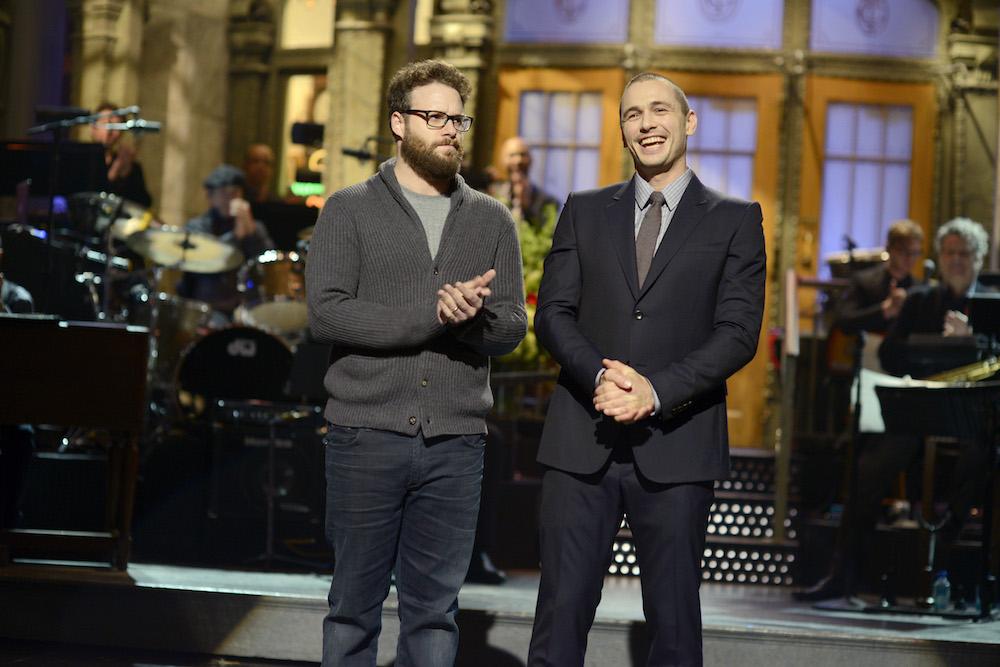 James Franco hosting SNL