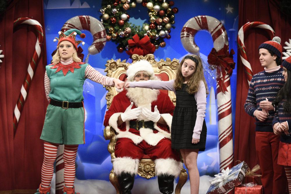 SNL Santa cold open skit