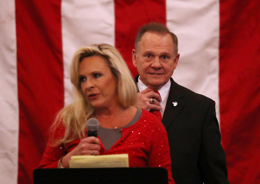 Kayla Moore and Roy Moore