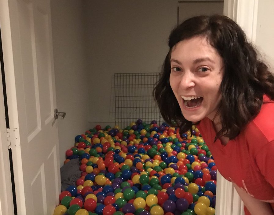 Picture of Rachel Bloom Ball Pit