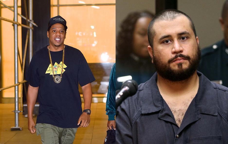 George Zimmerman threatened Jay Z