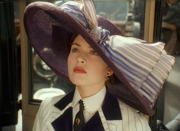 Rose DeWitt Bukater in the movie Titanic