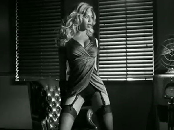"Beyonce in ""Dance for You"""