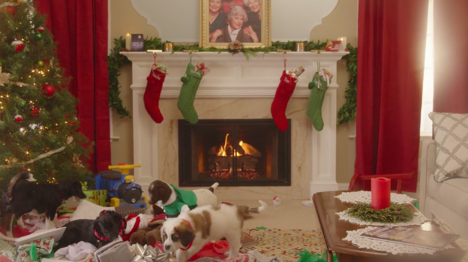 Puppies Crash Christmas